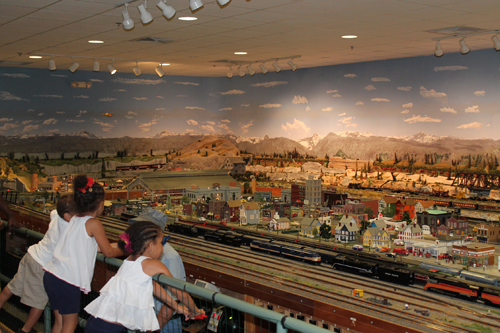 Foley Alabama Railroad Model Train Exhibit