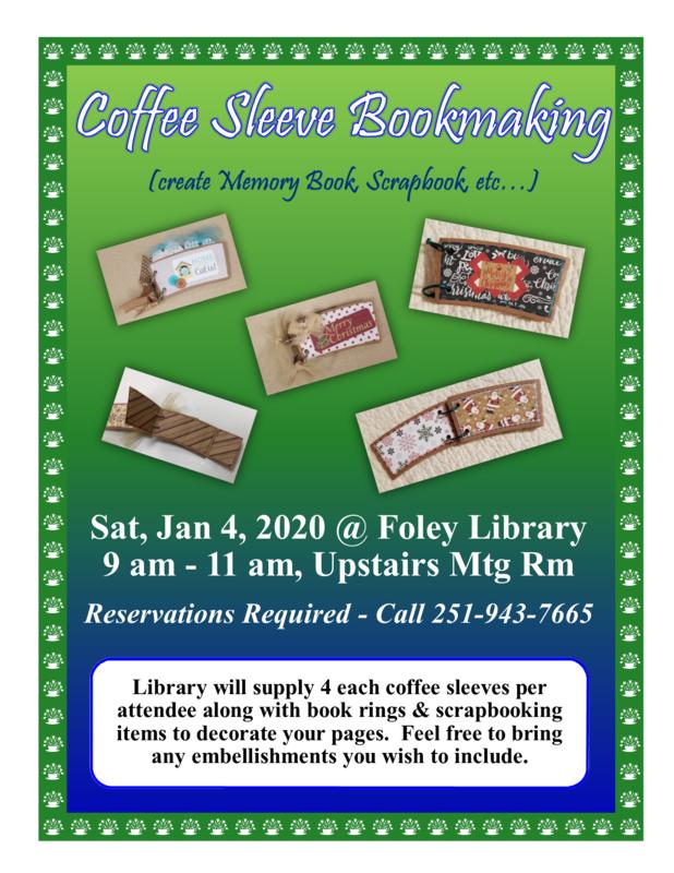 Coffee Sleeve Bookmaking (Create Memory Book, Scrapbook, etc.)