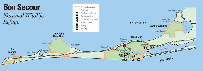 Bon Secour National Wildlife Refuge