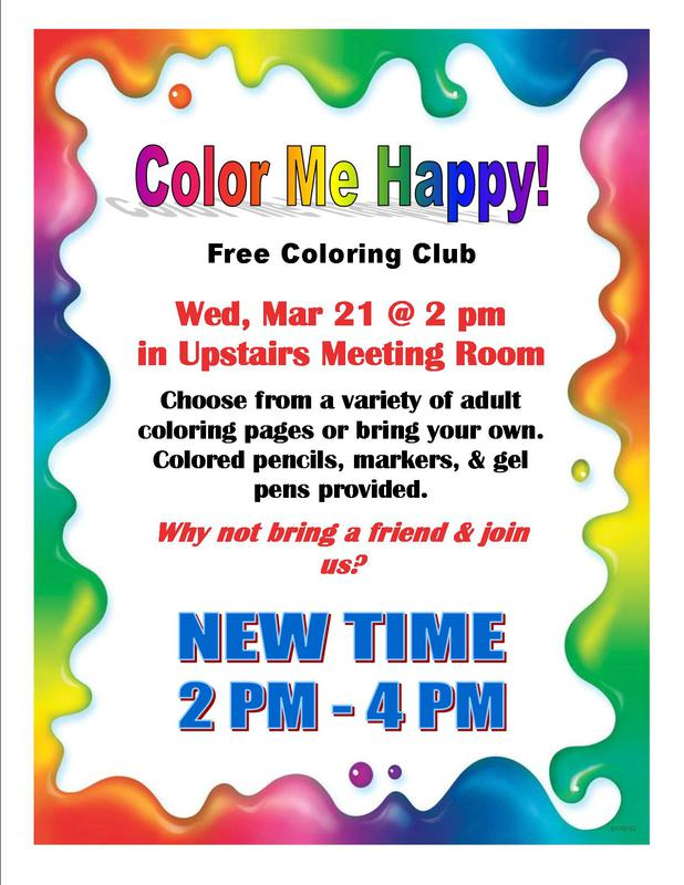 Color Me Happy!