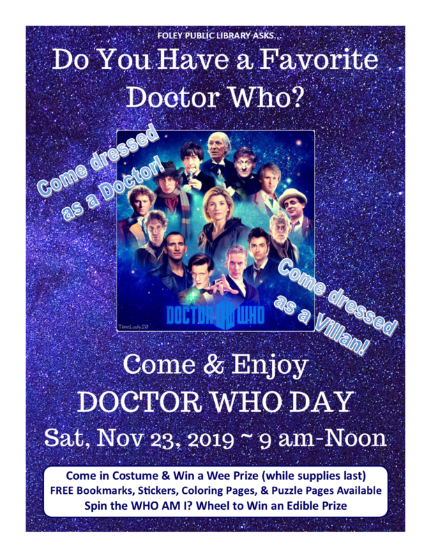 Dr. Who Day