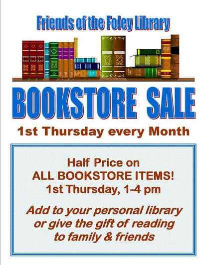 Friends of the Foley Library Bookstore Sale
