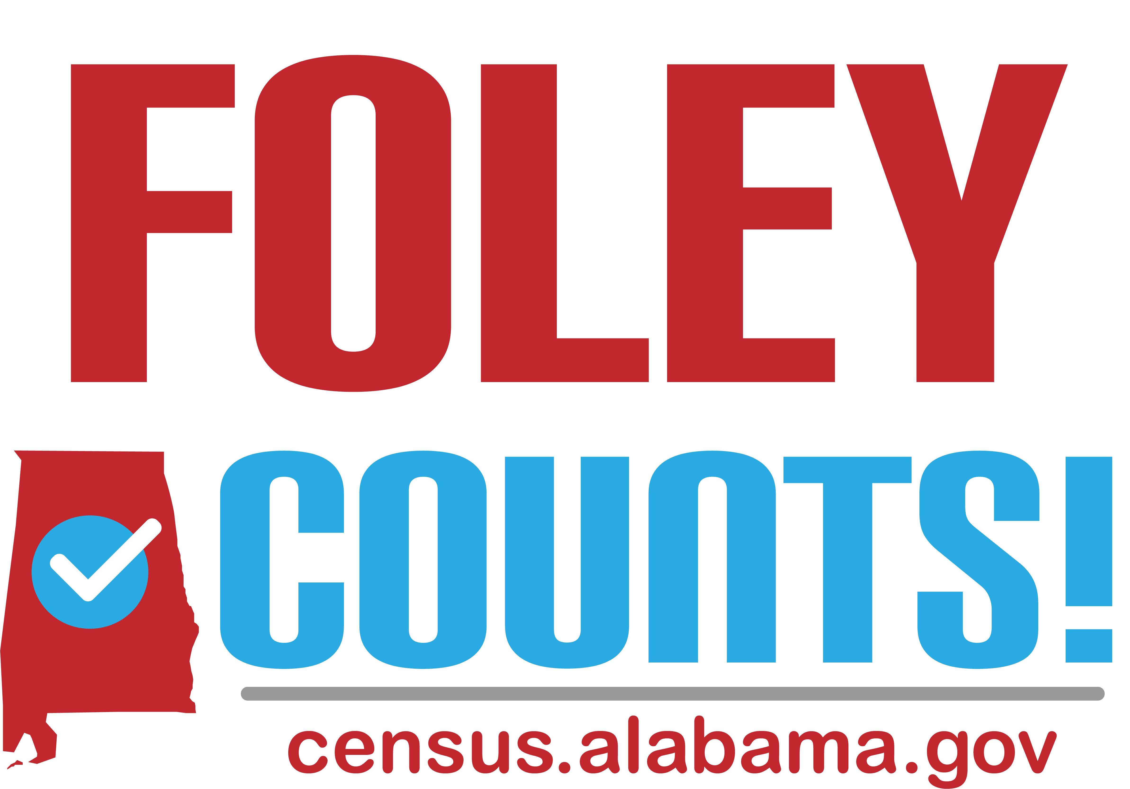 Foley Counts! Census Day Celebration 2020