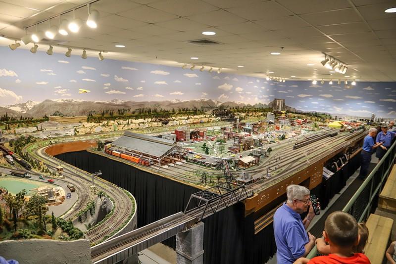 model train exhibit, visit foley
