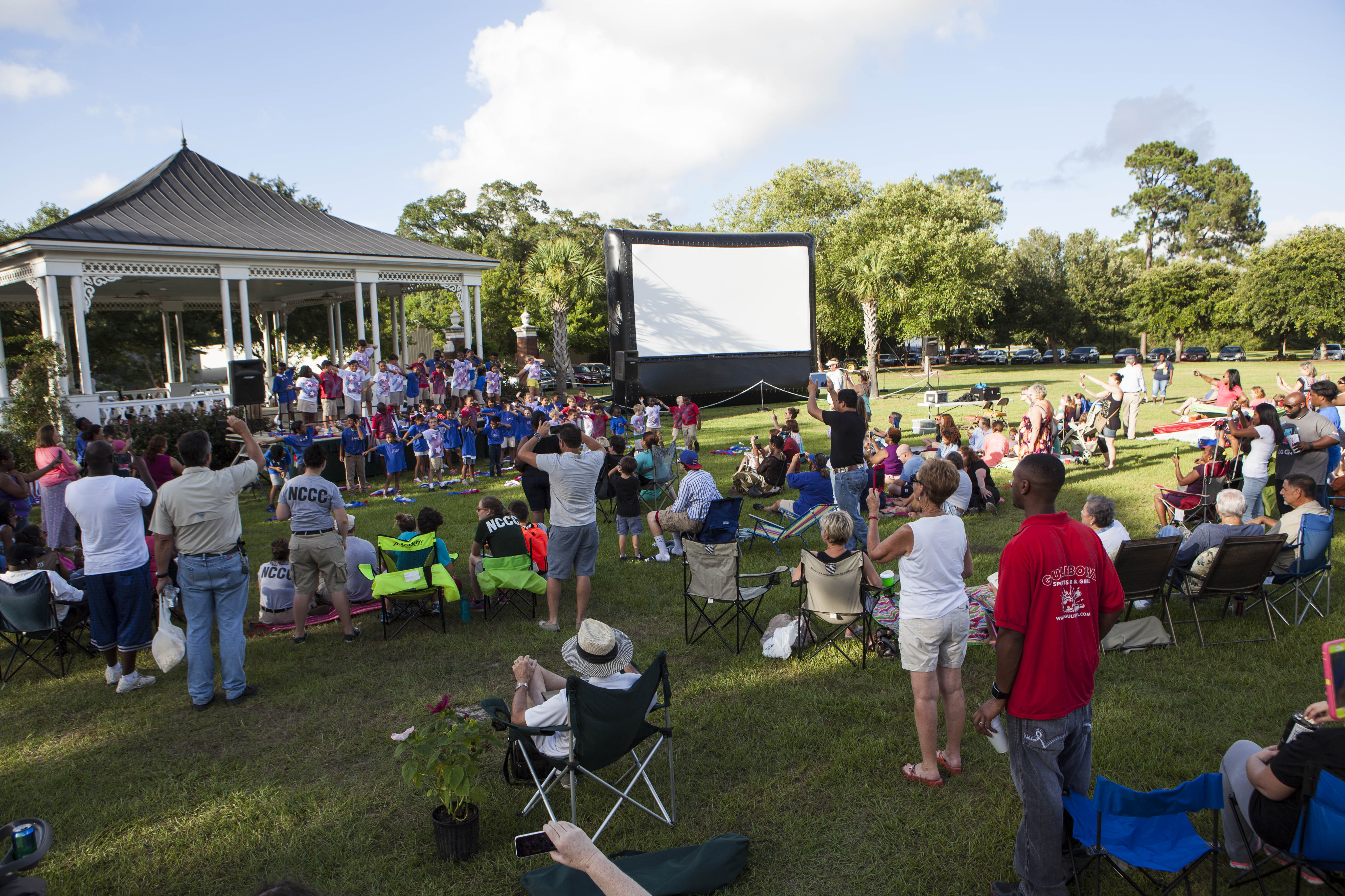 Foley, Alabama, Baldwin County, Music and a Movie, Music, Movie, entertainment