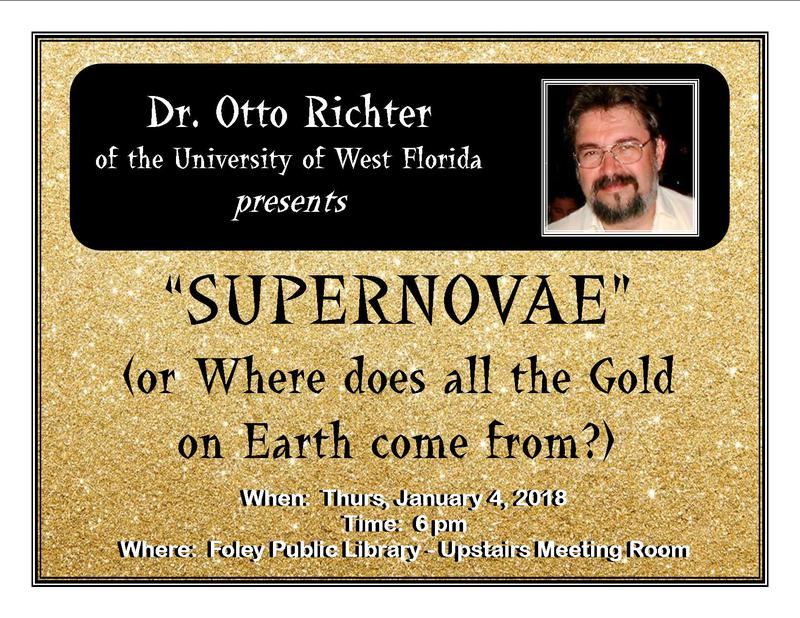 Supernovae (or Where does all the Gold on Earth come from?)