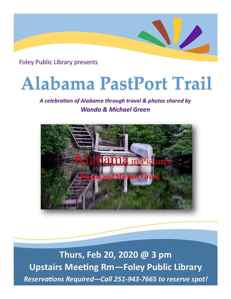 """Alabama PastPort Trail"" Presentation"