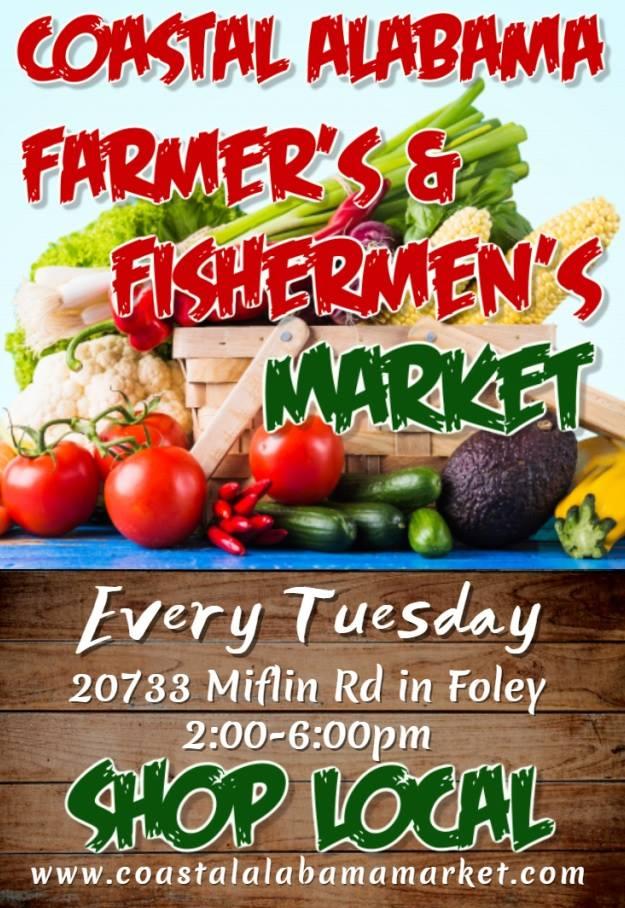Coastal Alabama Farmers and Fishermans Market