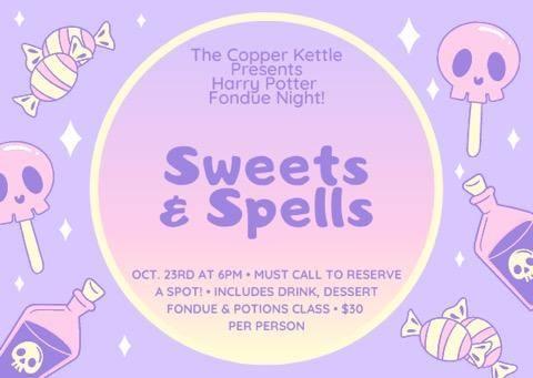 Hogwarts Potion Class and Evening Tea