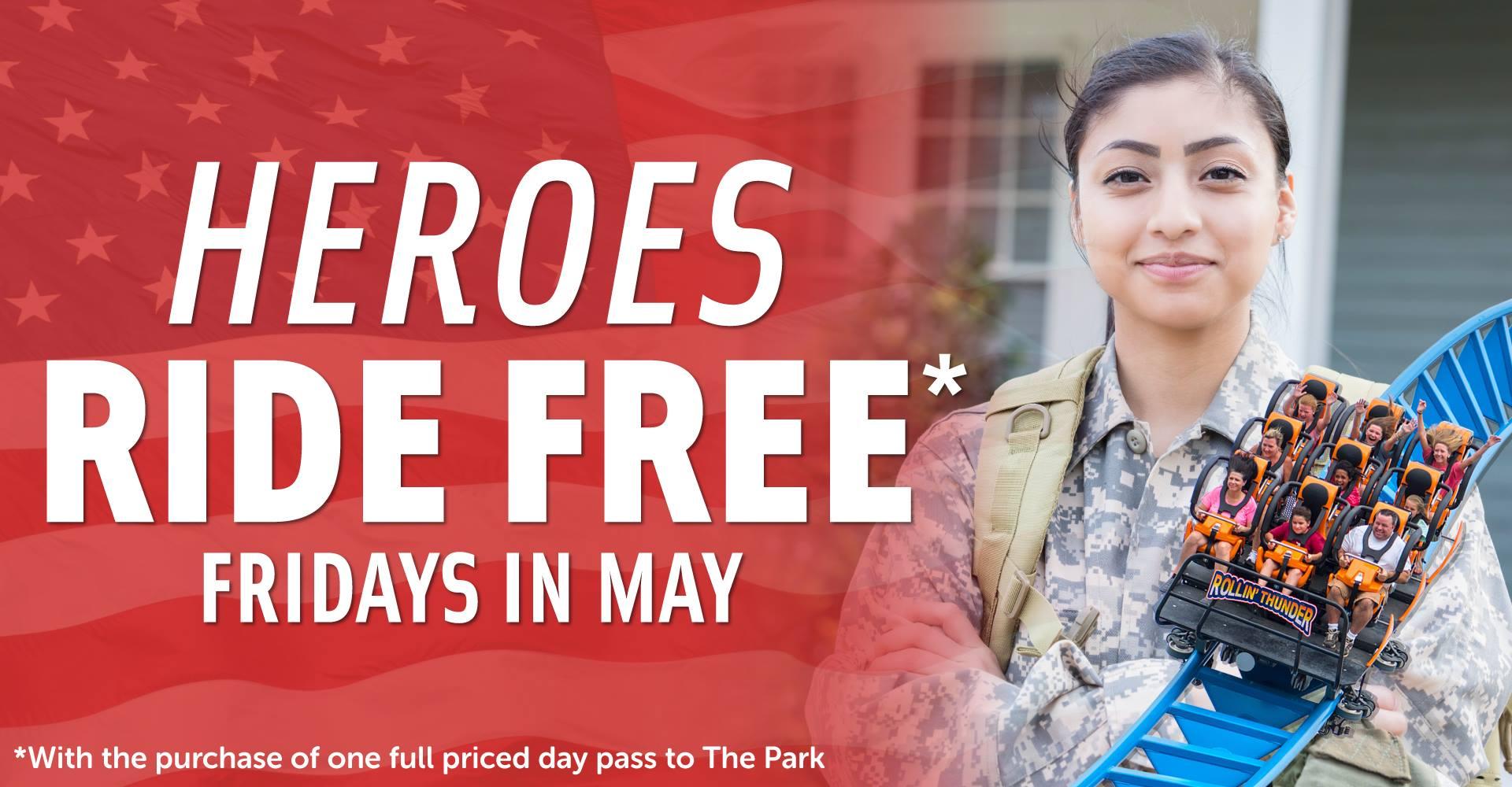 Heroes Ride Free – May 24, 2019