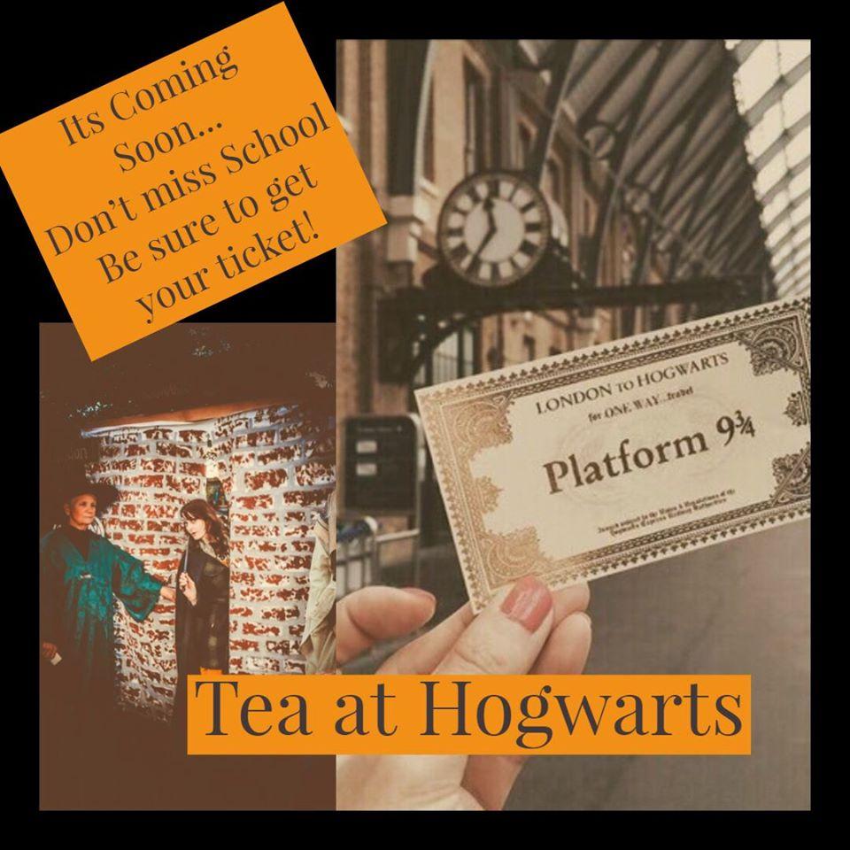 Tea at Hogwarts