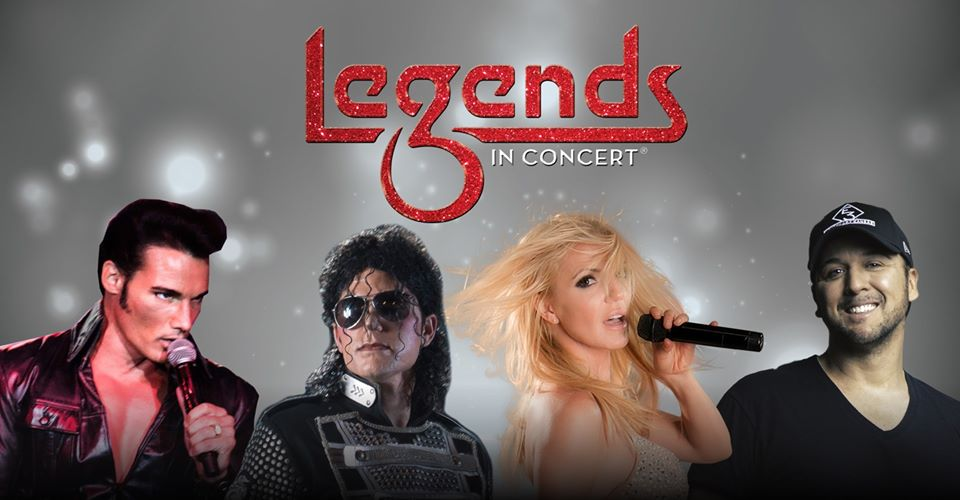 Legends in Concert – See Elvis, Britney Spears, Michael Jackson and Luke Bryan!