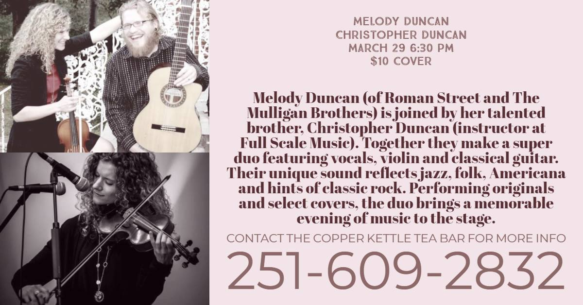 Intimate Concert with Melody Duncan and Christopher Duncan