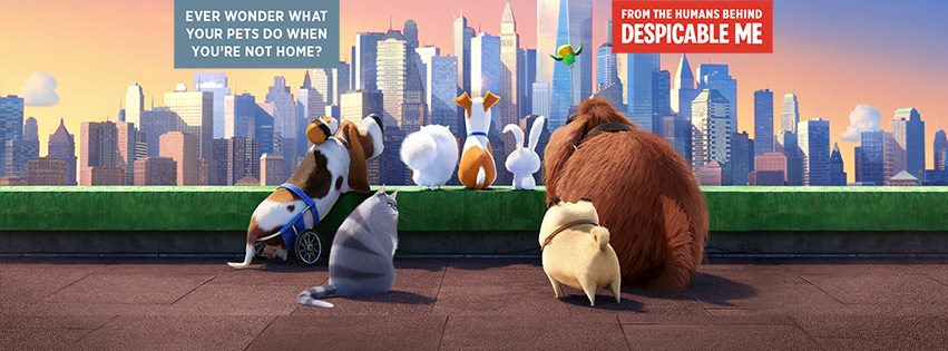 """Music and a Movie """"The Secret Life of Pets"""""""