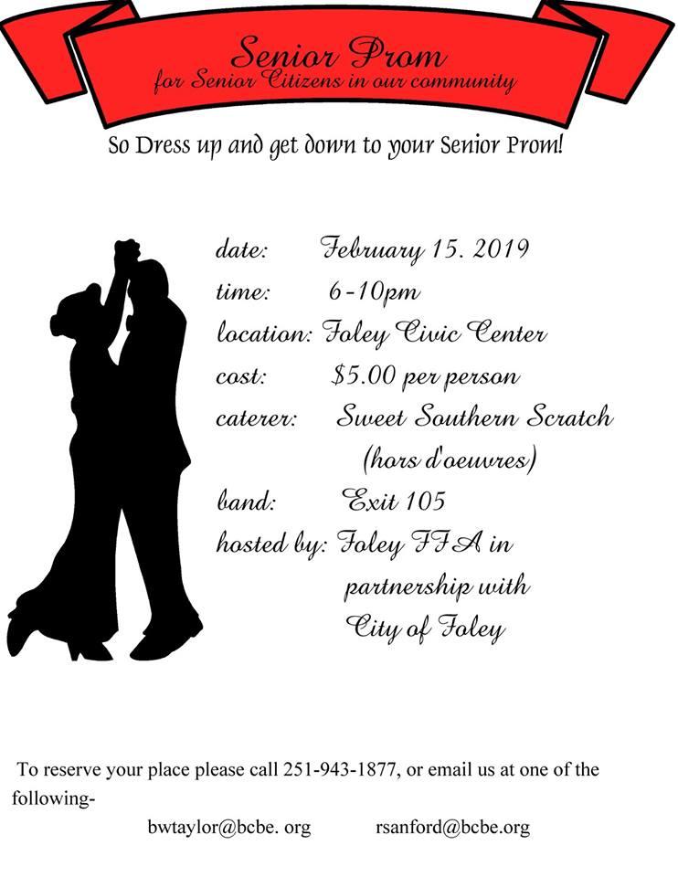 Senior Prom for Senior Citizens in our community