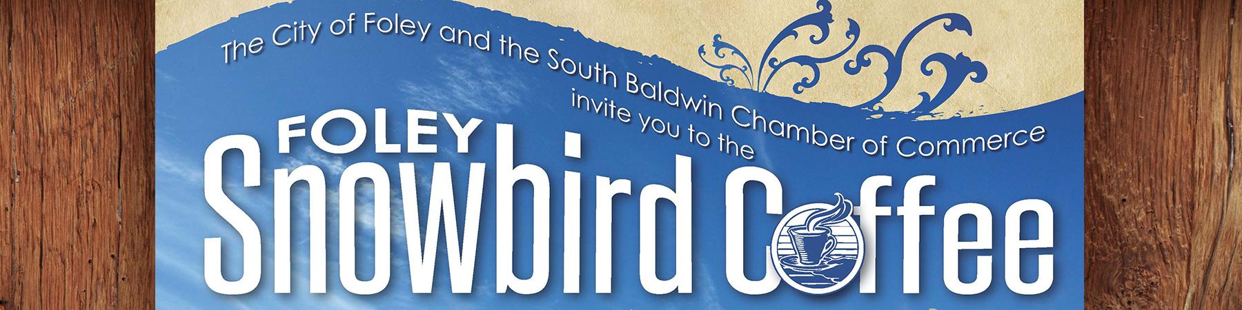 Foley Snowbird Welcome Coffee